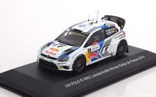 VW POLO R WRC #2 LATVALA ANTILLA WIN RALLY FRANCE 2014 WHITEBOX WBR013 1/43