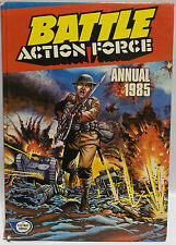 VINTAGE BOOKS : BATTLE AXCTION FORCE ANNUAL FOR 1985. BOOK FOR BOYS (PJ)