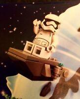 2017 LEGO STAR WARS ADVENT CALENDAR STORM TROOPER FIRST ORDER & BOARD NEW 75184