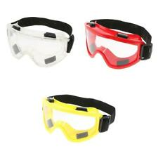 3pcs/lot 6'' Safety Goggles Eye Protection Lab Workplace Protective Glasses