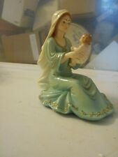 1989 Mother & Child Figurine Made in Italy Faro by Roman 6.5""