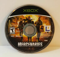 Mercenaries: Playground of Destruction (Microsoft Xbox, 2005) disc only