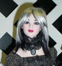 "Doll Wig, Monique Gold ""Jojo"" Size 7/8 Panda Color (Black & White)"