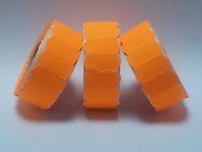 45,000 Fluorescent Orange Permanent SATO / Samark Price Gun Labels