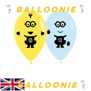 Despicable Me Minions Latex Balloons Kids Birthday Decoration Party