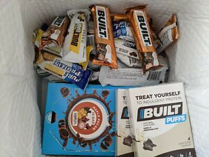 56 Protein Bar Bundle - Built Bar and Pure Protein 20 Flavors