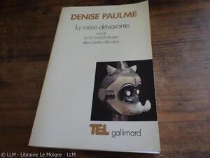 1986.Mère dévorante morphologie contes africains.Denise Paulme
