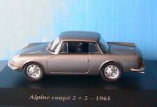 ALPINE COUPE 2+2 DE 1961 ELIGOR 1/43 GRIS FONCE RENAULT