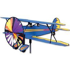 Bi-Plane Airplane Replica Staked Wind Spinner..37.... PR 26301