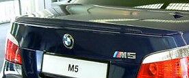 BMW E60 5 Series Sedan 2004-2010 M5 Genuine M Technik Rear Lip Spoiler Primed