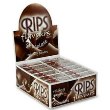 Rips Rolling Paper Flavoured - Chocholate 24 Pack