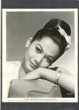 ASIAN BEAUTY NANCY KWAN PORTRAIT - N MINT 1961 FLOWER DRUM SONG - MUSICAL - MUS