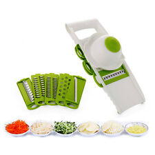 Mandoline Slicer Vegetables Cutter with 5 Stainless Steel Blade Carrot Grater