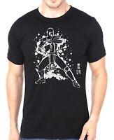 Mortal Kombat SubZero Soulkr Style Unisex Adults Black T-Shirt