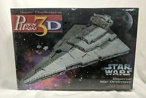 Puzz 3D Star Wars Imperial Star Destroyer 3D Foam Puzzle 1996 SEALED