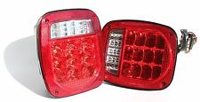 1974-2006 Jeep Replacement tail Lights Left and Right Side LIFE TIME WARRANTY