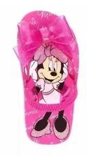 Toddler Girls Pink Minnie Mouse Flip Flops Size 11-12
