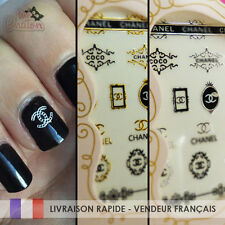 💅 Nail Art Logo - Marque Deco - Ongles Stickers Neufs
