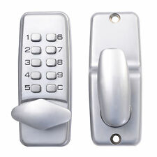 New Keyless Electronic/Code Digital Keypad Security Entry Door Lock US Ship