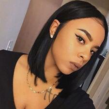 Bob Style Human Hair Lace Front Wig 100% Human Hair Brazilian Virgin Wigs