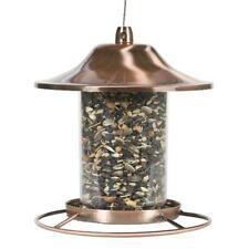 New listing Perky Pet Bird Feeder Garden Fowl Seed Food Dispenser Birdfeeder Circular Perch