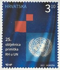 Kroatien Croatia 2017 Michel Nr. 1285 Jahrestag Aufnahme Kroatiens in die UNO