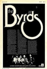 (Sds)24/3/1973Pg19 The Byrds/ The Byrds Album Advert 15x10
