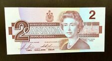 1986 Canada Two Dollar Paper Money Bank Note - Unc