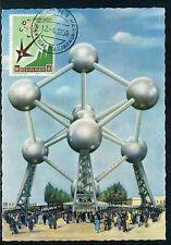 Belgique - Carte maximum 1958 - Atonium