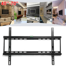 "TV Bracket Wall Mount For TV 40 42 46 48 50 52 55 58 60 65 70"" LCD LED Plasma UK"