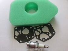 "Rover Lawn Mower Tune up Kit Diaphragm, Air Filter Spark Plug, Our Type ""A"""