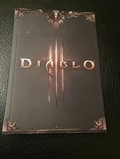 Diablo III Note Book with Artwork. By Blizzard.