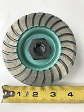 """PEARL ABRASIVE HEX1CUP  4"""" HEX PIN DIAMOND CUP WHEEL"""