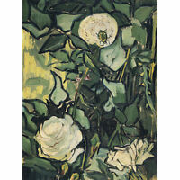 Vincent Van Gogh Roses Extra Large Art Poster