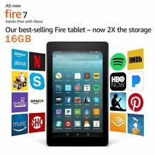 Black 2019 Amazon Fire 7 Tablet 16GB 9th Generation 7 ISP...