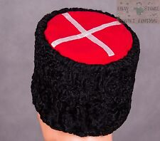 USSR Red Army Russian Soviet Cossack Hat Cap PAPAKHA sheepskin Size 7 US (56 см)