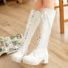 2020 New fashion ladies Cosplay shoes lace up boots Martin boots ladies shoes