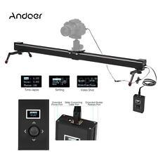Electric Motorized Track Rail Slider Stabilizer Time Lapse for DSLR Camera P2J8