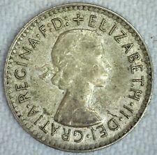 1947 Australia Threepence Silver BU Coin 3c Australian Coin Uncirculated