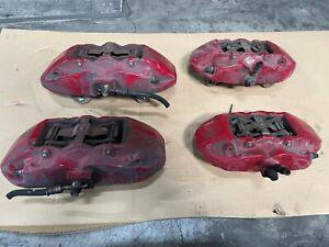 2009-16 Hyundai Genesis Coupe Brembo Brake Calipers Set OF 4