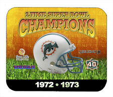 Item#341 Miami Dolphins Championship Helmet Mouse Pad