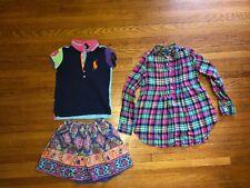 Ralph Lauren girls clothes size 7 lot of 3 pieces