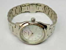 Ladies Emporio Armani Stainless Steel MOP Dial Valeria Watch AR-11030