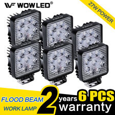 WOW - 6 X 27W LED Driving Work Light Lamp Truck Offroad Bar UTE Boat 4WD 12V