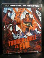 Tucker and Dale vs Evil Blu-Ray Steelbook New Mint Sealed Versus Horror &