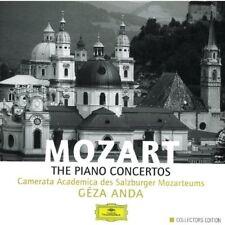 MOZART THE PIANO CONCERTOS - BOX SET 8 CD - EDICIÓN COLECCIONISTA - NUEVO