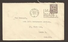 """Ireland 1948 Trade cover. """"Royal Bank of Ireland"""" embossing on reverse."""