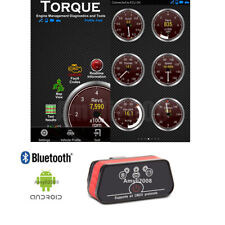 Bluetooth OBDII For Android PC Car Engine Fault Check Diagnostic Scanner