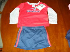 New England Patriots Cheerleader Outfit Sz 2T