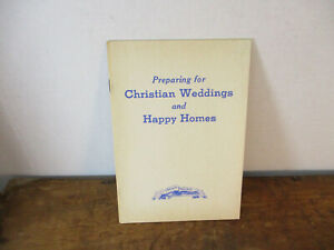 Preparing for Christian Weddings and Happy Homes